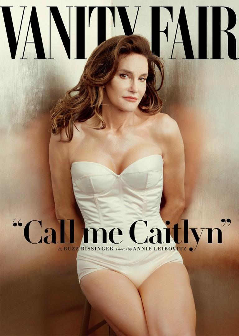 『ヴァニティ・フェア』(2015年7月号)の表紙
