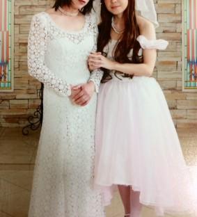 夫婦 女装