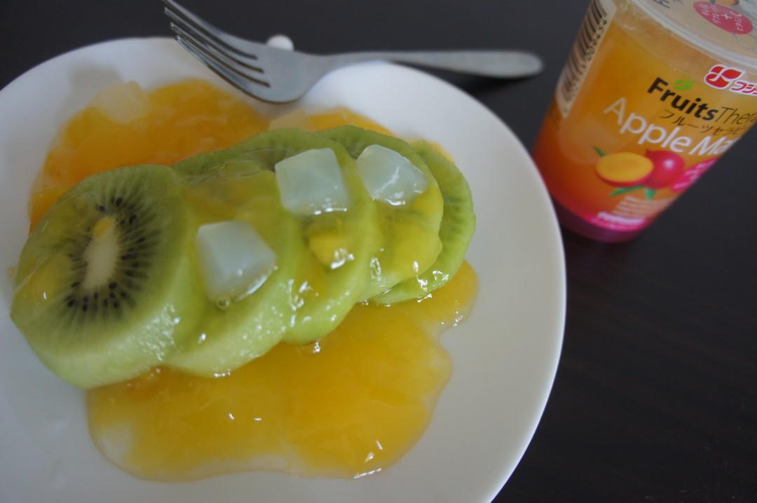 キウイフルーツ+「フルーツセラピー アップルマンゴー」