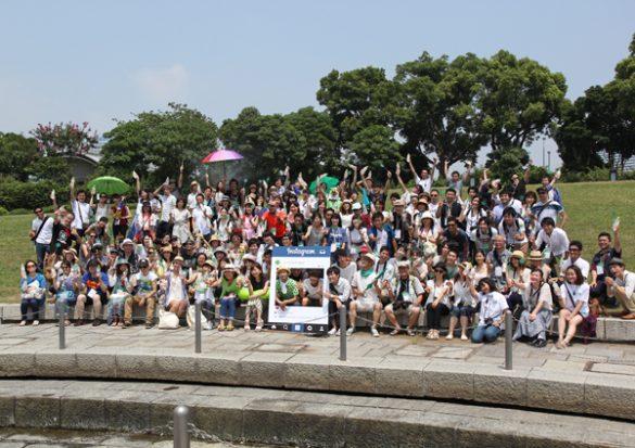 臨港パークにインスタグラムファンが集結