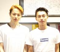 荒木宏文(左)と遠藤雄弥