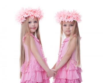 子供の双子コーデ