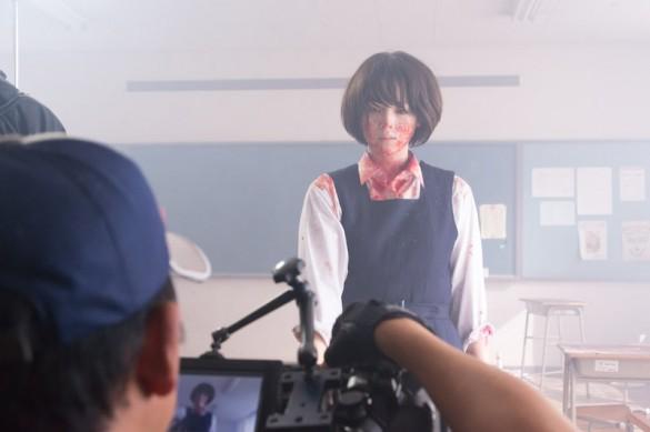 『東京無国籍少女』の撮影風景_1