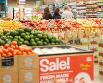 人気のスーパーマーケット