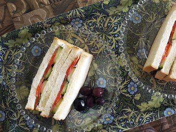 美容食としてのサンドイッチ