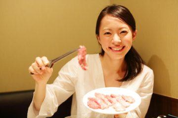 肉好き女子