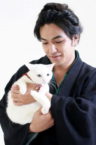 北村一輝さんとあなごちゃん