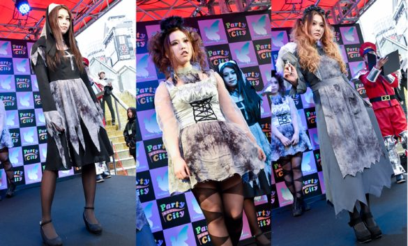 クリアストーン HALLOWEEN COSTUME SHOW 2015_ゴースト