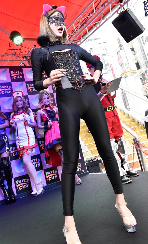 クリアストーン HALLOWEEN COSTUME SHOW 2015_ハロウィン_黒猫