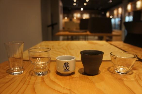 日本酒を味わうための5種のグラス