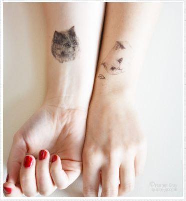 猫タトゥー・シール