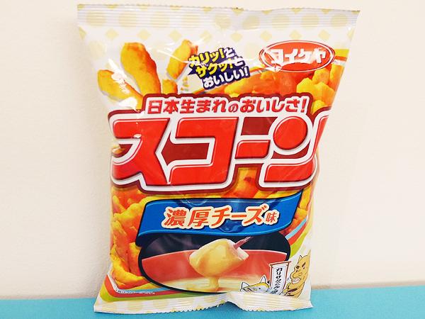 【5位】コイケヤ スコーン 濃厚チーズ味