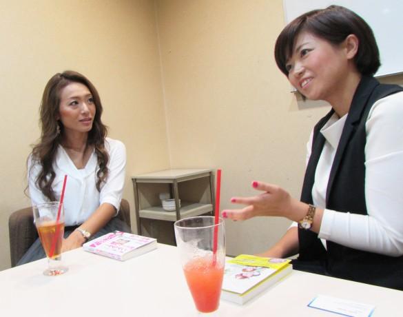 金田さん(左)と吉田さん