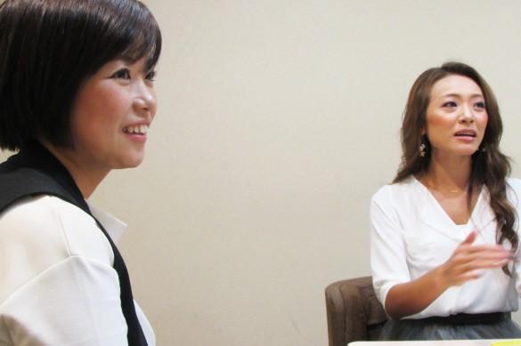 吉田可奈さんと金田貴子さん