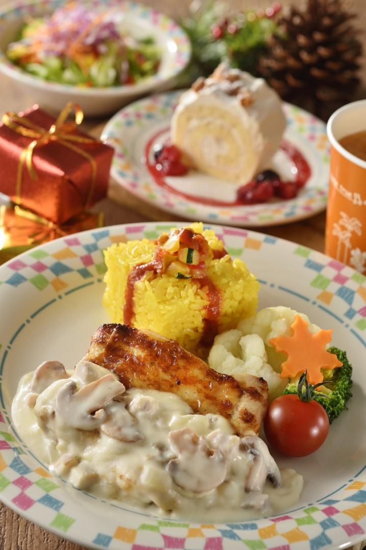 レストラン「グランマ・サラのキッチン」のスペシャルセット