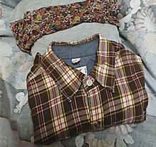 上部分の衣類
