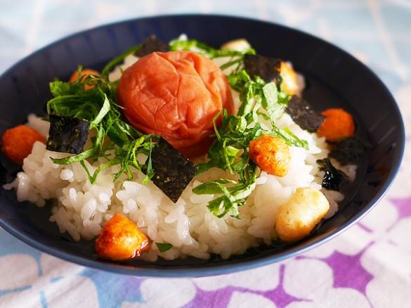Umé (Japanese apricot) chazuke
