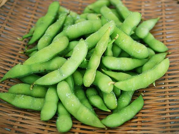 枝豆(両手に乗る程度:260μg)