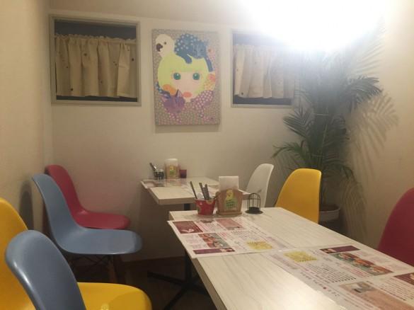 ことりカフェ・店内
