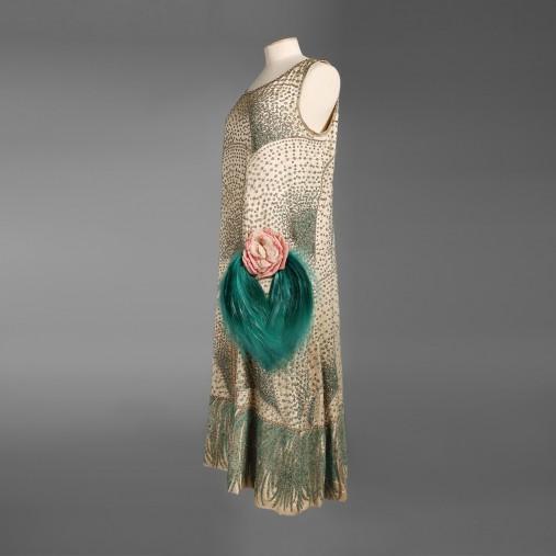 ジェローム イヴニング・ドレス 《楽園》 1925年頃 ガリエラ宮パリ市立モード美術館蔵 (C)Katerina Jebb @mfilomeno.com