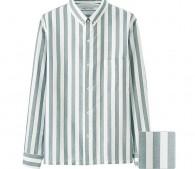 オックスフォードストライプシャツ