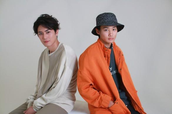 間宮祥太朗くん(左)と野村周平くん