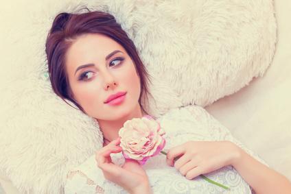 華麗な恋愛遍歴を持つ女性
