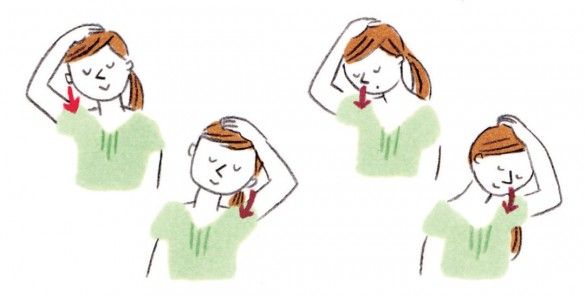 顎関節症を改善・予防するストレッチ