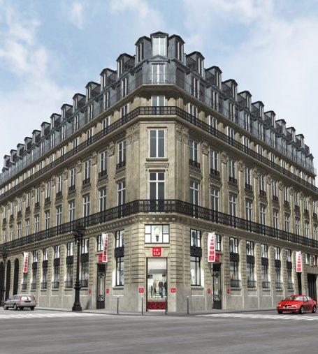 ユニクロ パリ・オペラ店