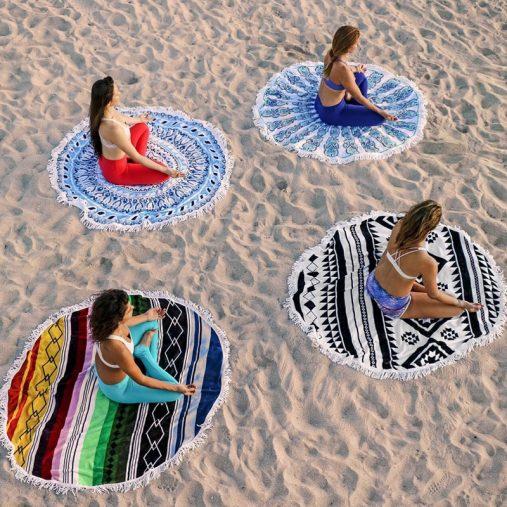 Round towel