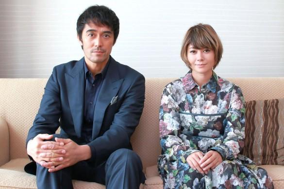 阿部寛さんと真木よう子さん