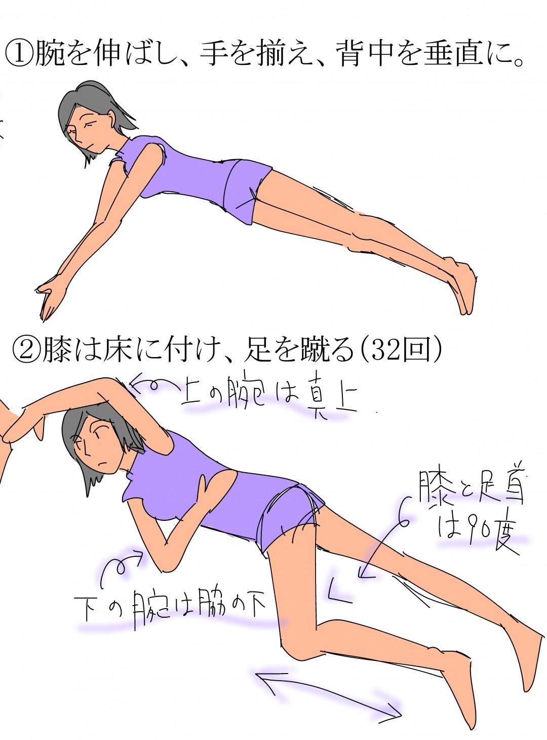 シェー体操