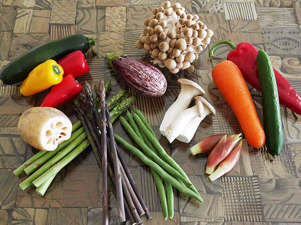 作り方(1) オススメ野菜