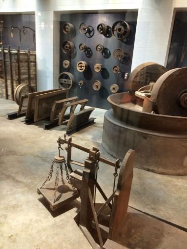 工場の展示