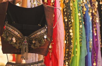 ベリーダンスの衣装