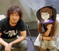 ウメハラさん(左)とちきりんさん