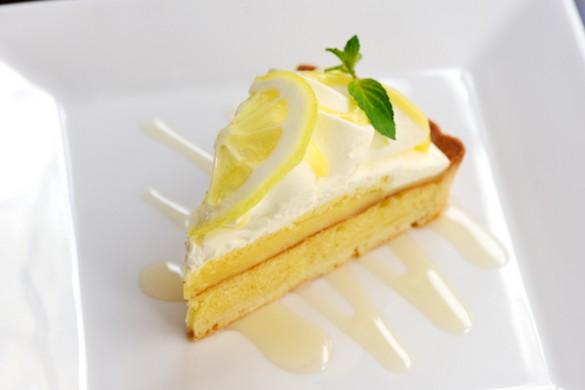 季節のタルト はちみつレモンのタルト(サニーストア&カフェ)