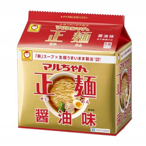 マルちゃん正麺醤油味5食パック