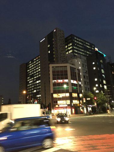 夜の東新宿