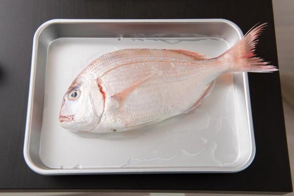 ライザップ料理教室鯛