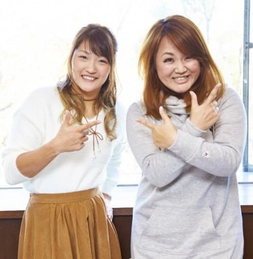 RENAさん(左)となちゅ