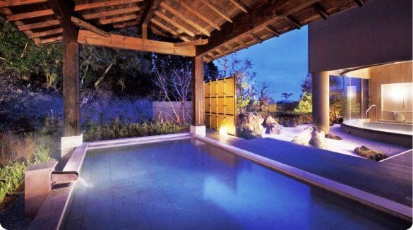 翠海の温泉
