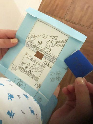 こちらが実際の折り紙3DSとカセット