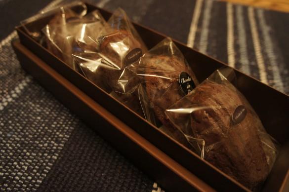 ショコラマドレーヌ