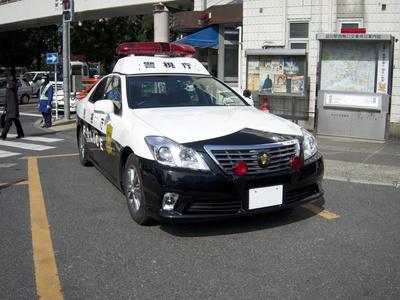 警察パトカー