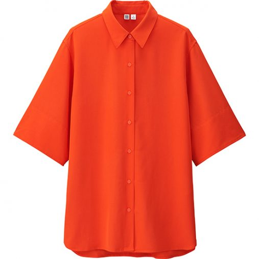 レーヨンオーバーサイズシャツ