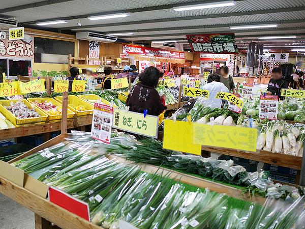 農産物直売所「アグリハウスこちんだ」と島野菜