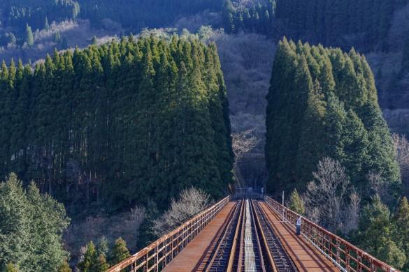 あまてらす鉄道の鉄橋