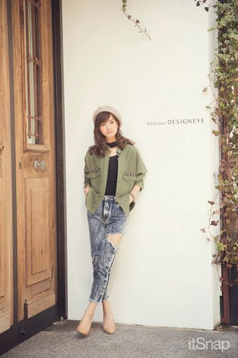 モデル・林まきサン(164cm)1