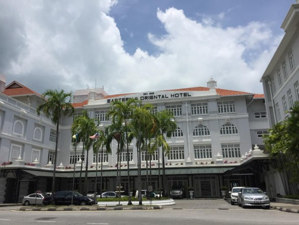 ペナン島で1番の高級ヘリテージホテル『Eastern & Oriental Hotel』